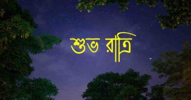 Bengali good night sms