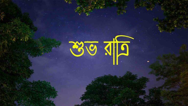 2021 Good Night SMS Bangla । good night Bengali