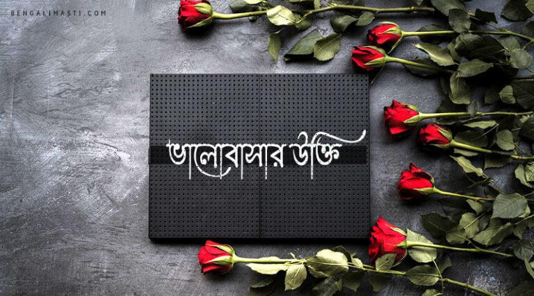 50+ আসাধারন ভালোবাসার উক্তি | Bengali love Quotes [2021]